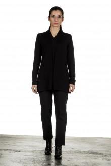 Yukai Damen Pullover A-Linie schwarz