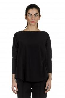Schella Kann 2 Damen Stretch Longsleeve Shirt schwarz