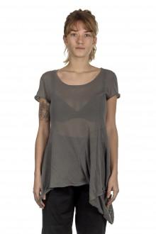 Rundholz Damen T-Shirt Avantgarde grau