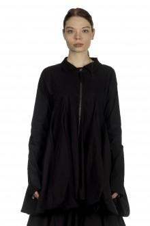 Rundholz Damen Ausgestellter Gehrock in Ballonform schwarz