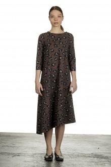 Schella Kann 2 Damen Asymmetrisches Kleid in Midi-Länge mehrfarbig