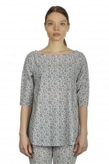 Schella Kann 2 Damen Langarmshirt mit Print mehrfarbig