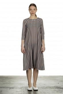 Schella Kann 2 Damen Kleid in A-Linie mit Print mehrfarbig