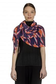 ISSEY MIYAKE PLEATS PLEASE Schal mit grafischem Print mehrfarbig