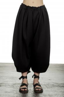 Comme Des Garçons Damen Hose mit Stretchbund schwarz