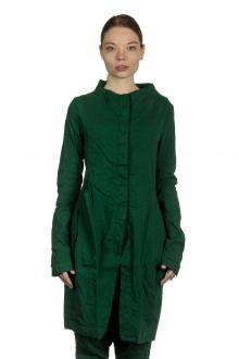 Rundholz Dip Damen Ausgestellter Gehrock in Tulpenform grün