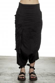 Rundholz Damen Sarouelhose schwarz