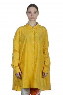 Katharina Hovman Damen Oversized Hemdbluse gelb