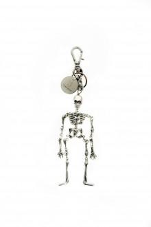 Yohji Yamamoto Schlüsselanhänger Skull silberfarben