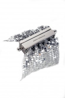 Paco Rabanne Damen Armband aus Kettengeflecht silber