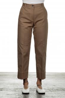 Nine In The Morning Damen Cropped- Hose mit hohem Bund fango