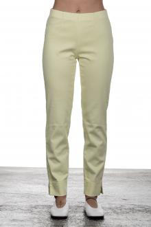 Seductive Damen 7/8 Hose 'SABRINA' mit elastischem Bund gelb