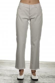 Seductive Damen 7/8 Denim Hose 'CLAIRE CROPPED' in Hüfthöhe grau