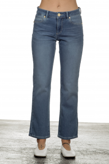 Seductive Damen Jeans Claire Kick blau