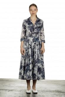 SAMANTHA SUNG Damen ASTER Kleid mit Print