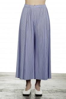 Pleats Please Issey Miyake Damen  Plissee Weite 7/8 Taillenhose violett