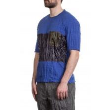 ISSEY MIYAKE Herren T-Shirt blau