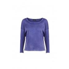 AVANT TOI Damen Baumwoll Shirt blau