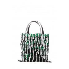 BAO BAO ISSEY MIYAKE Tasche grün schwarz