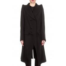 Ann Demeulemeester Damen Mantel schwarz