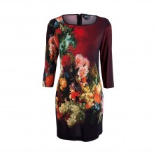 Just Cavalli Kleid floral print rot