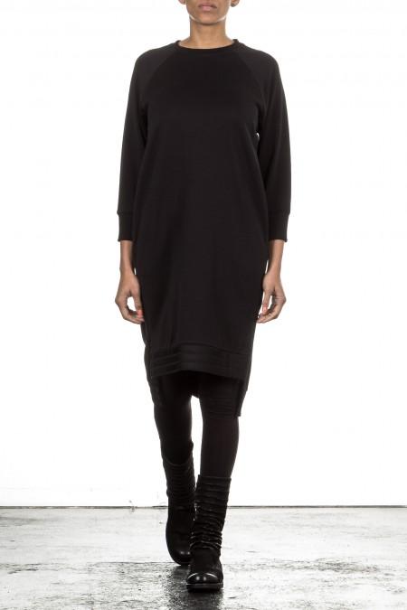 Y-3 Damen Sweat Kleid PARACHUTE schwarz