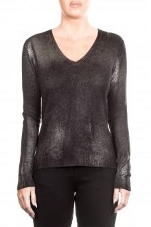 AVANT TOI Damen Kaschmir Pullover grau metallic