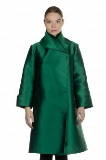 Katharina Hovman Damen Gehrock smaragd