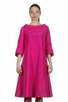 Katharina Hovman Damen Kleid in A-Linie pink