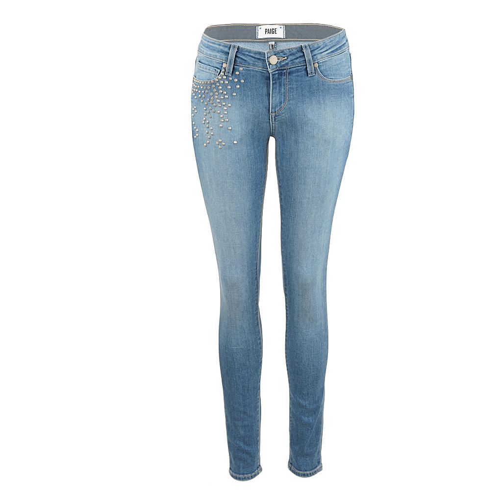 Hosen für Frauen - Paige Jeans STUDDED SKYLINE ANKLE PEG paxton  - Onlineshop Luxury Loft
