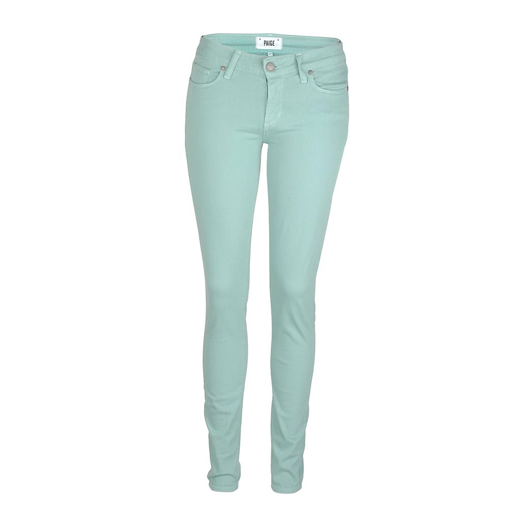 Hosen für Frauen - Paige Jeans Verdugo mint  - Onlineshop Luxury Loft