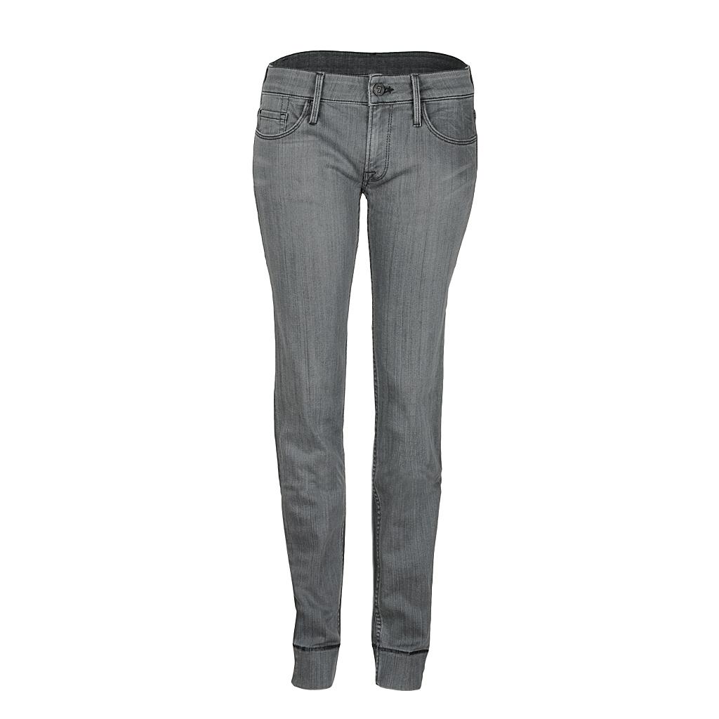 Hosen - 7 for all mankind Jeans AVA hellgrau  - Onlineshop Luxury Loft