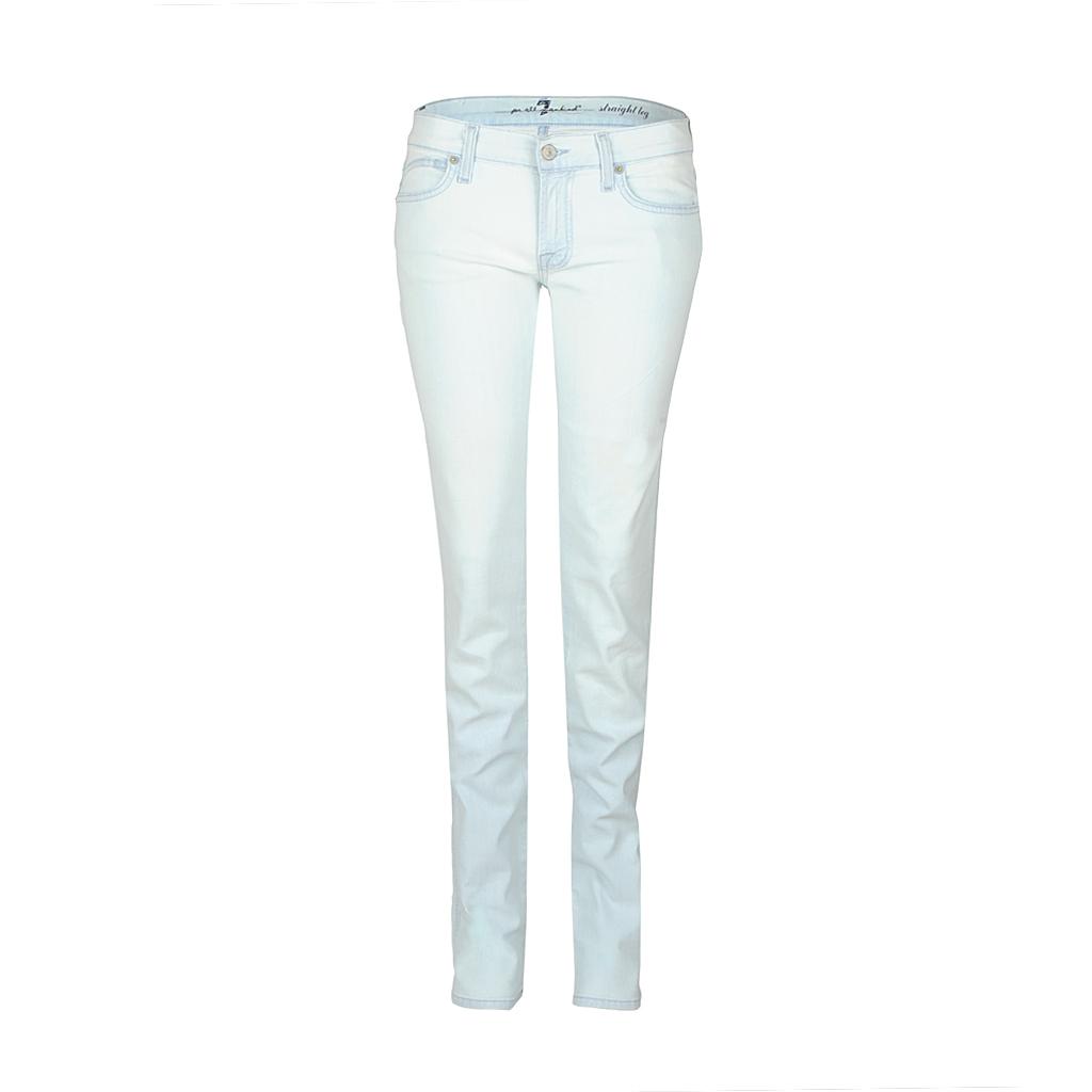 Hosen - 7 for all mankind Jeans straight leg SUNSET RIO hellblau  - Onlineshop Luxury Loft