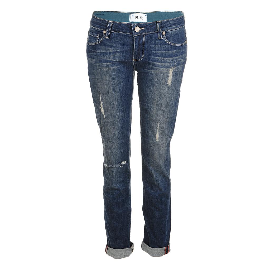 Hosen für Frauen - Paige Jeans JIMMY JIMMY skinny tawni destruction  - Onlineshop Luxury Loft