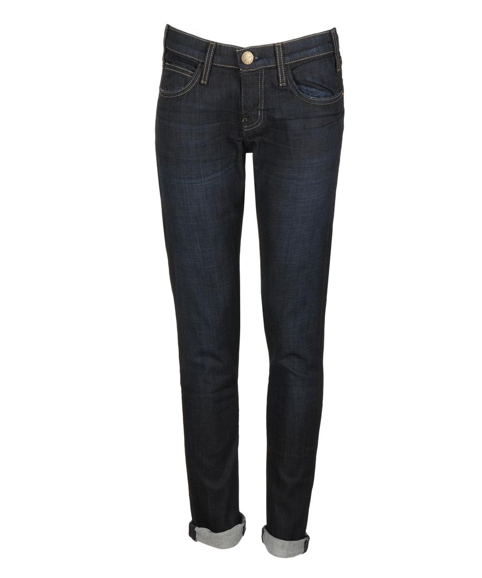 Hosen - Current Elliott THE ROLLER Jeans bonfire blue  - Onlineshop Luxury Loft