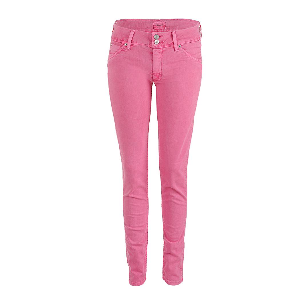 Hosen - Hudson Jeans COLLIN skinny midrise pink  - Onlineshop Luxury Loft