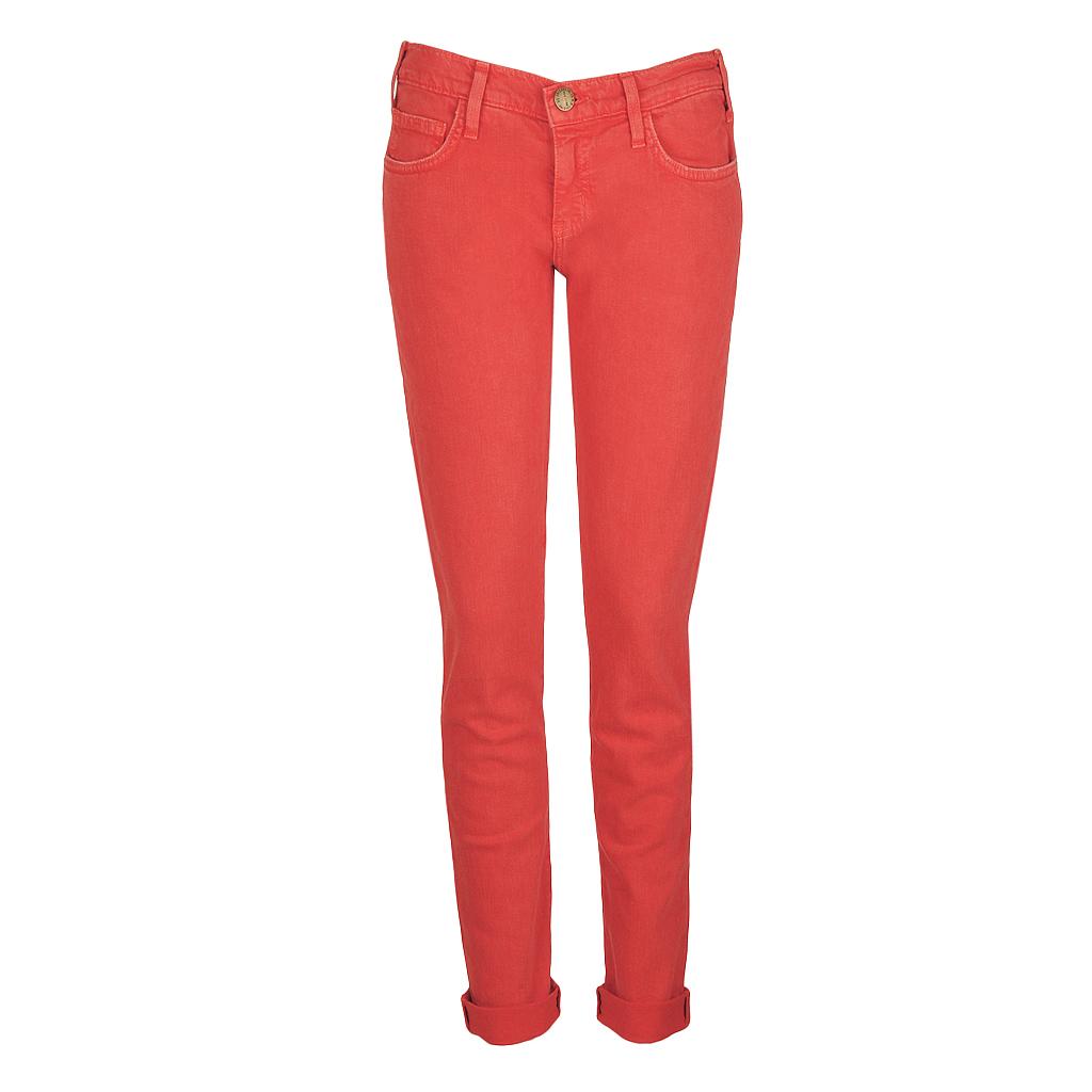 Hosen - Current Elliott THE ROLLER Jeans rot  - Onlineshop Luxury Loft