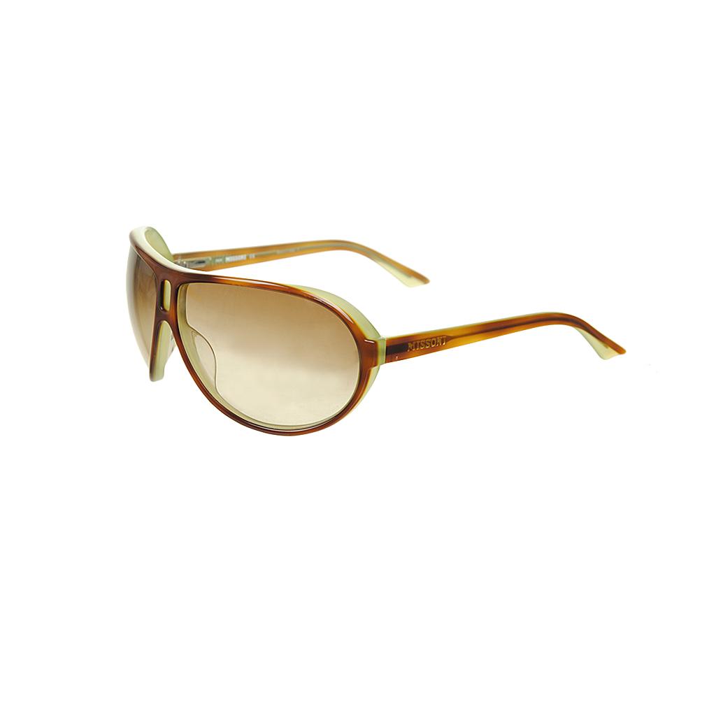 Sonnenbrillen - Missoni Sonnenbrille MI58504 green brown  - Onlineshop Luxury Loft