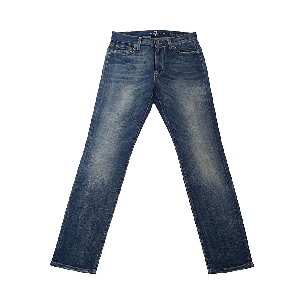 Hosen - 7 for all mankind Damen Jeans ROXANNE blau  - Onlineshop Luxury Loft