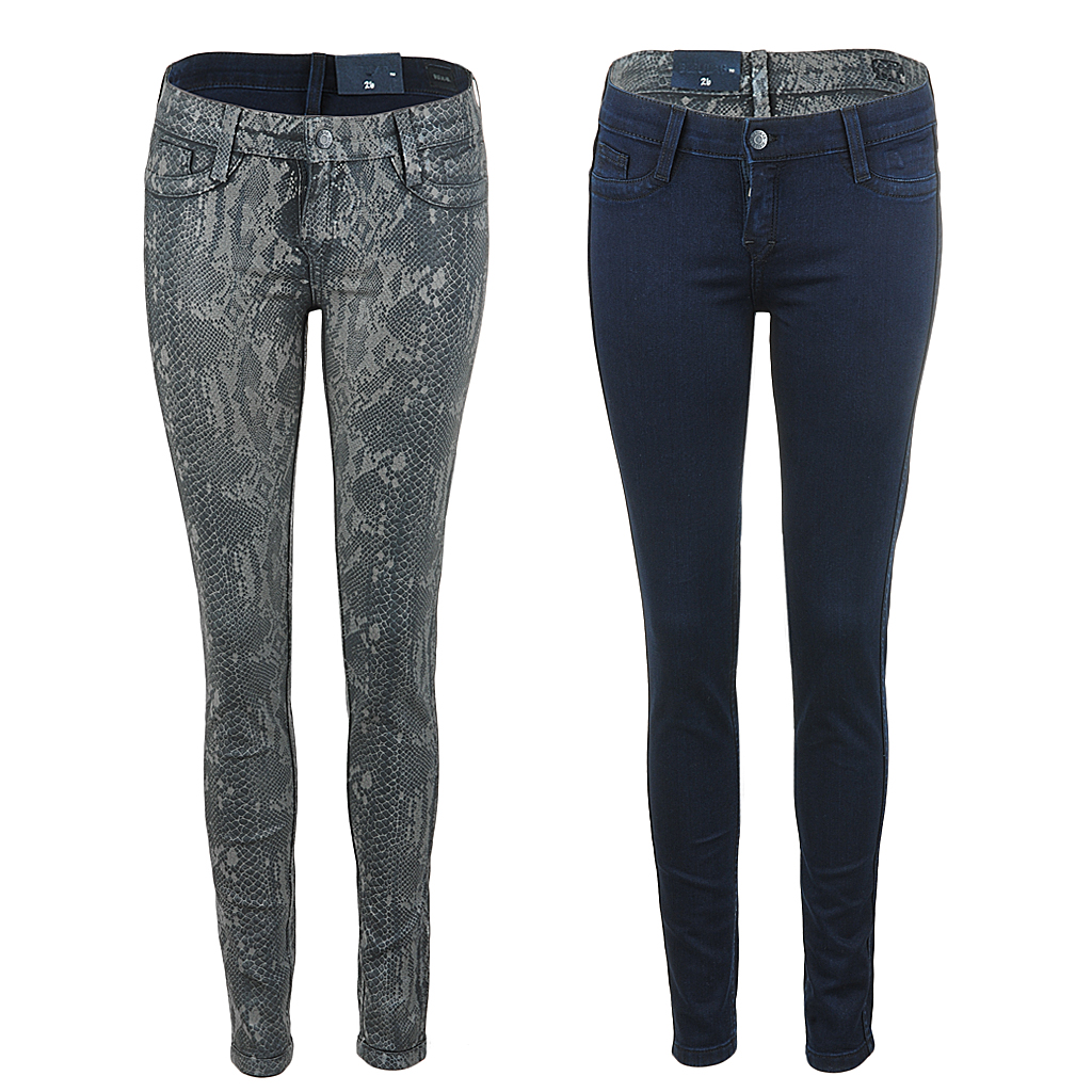 Hosen - BleuLab Reversible Jeans zum Wenden bleulead snake  - Onlineshop Luxury Loft
